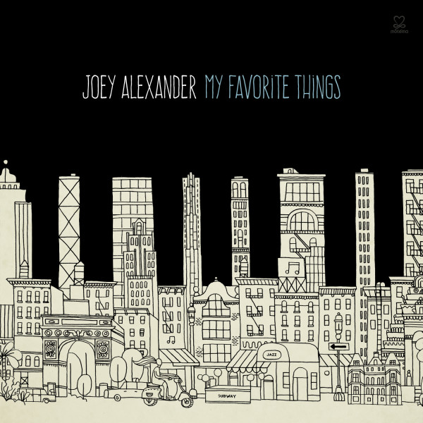 Joey Alexander CD Cover